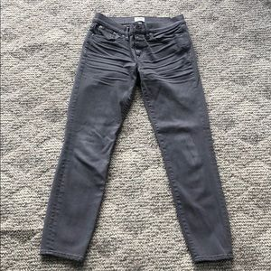 J. Crew Toothpick cropped Jeans.